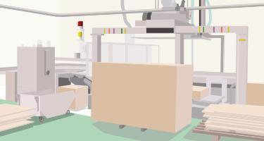 複合ライン横架材加工機│ナカザワ建販株式会社