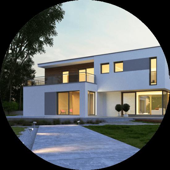 デザイン性の高い間取りの耐震性を確認できる。建てる側も安心!